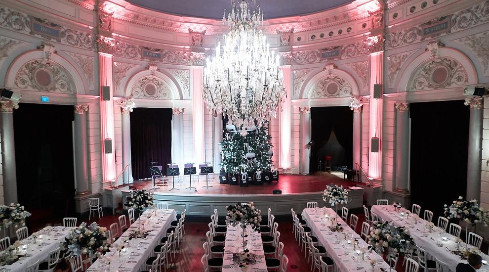 Karl Lagerfeld Christmas Dinner